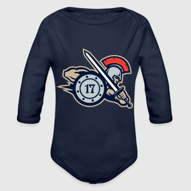 Seventeen Troops - Organic Long Sleeve Baby Bodysuit