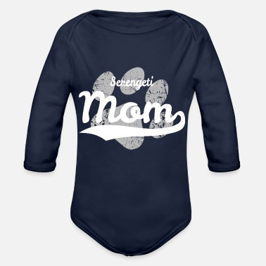 Serengeti Serengeti Mom - Organic Long-Sleeved Baby Bodysuit