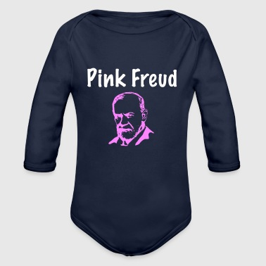Pink Freud - Organic Long Sleeve Baby Bodysuit