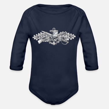 Seabees SEABEEs - Organic Long-Sleeved Baby Bodysuit
