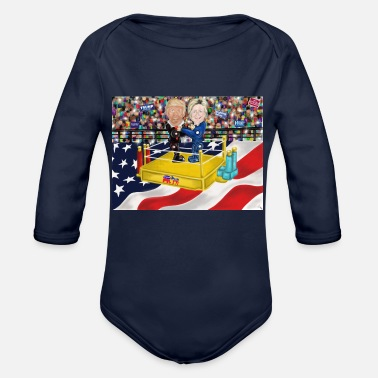 Winner And The Winner Is...... - Organic Long Sleeve Baby Bodysuit