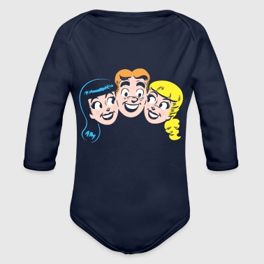 Archie Archie's Girls - Organic Long Sleeve Baby Bodysuit
