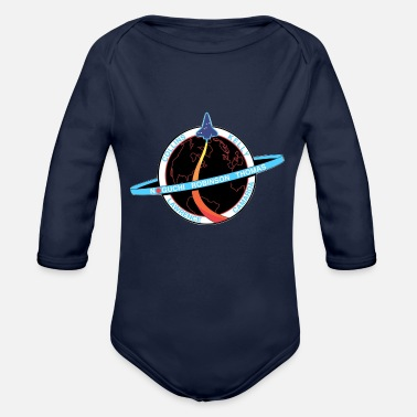 Space Shuttle NASA Space Shuttle - Organic Long Sleeve Baby Bodysuit