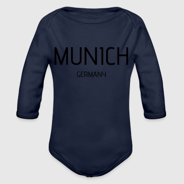 Munich - Organic Long Sleeve Baby Bodysuit