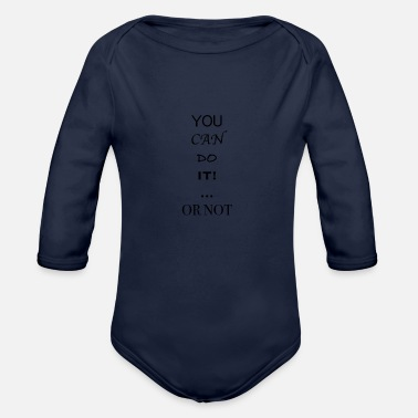 Lazy Lazy - Organic Long Sleeve Baby Bodysuit