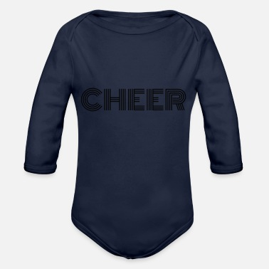 Cheers CHEER - Organic Long Sleeve Baby Bodysuit