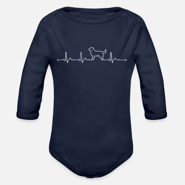 Retriever Golden Retriever T-Shirts - Organic Long-Sleeved Baby Bodysuit