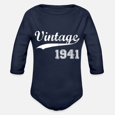 1941 1941 - Organic Long-Sleeved Baby Bodysuit