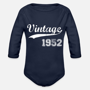 1952 1952 - Organic Long-Sleeved Baby Bodysuit