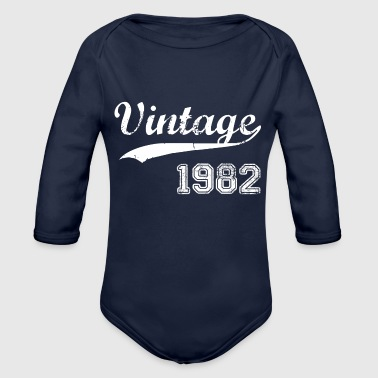 1982 - Organic Long Sleeve Baby Bodysuit