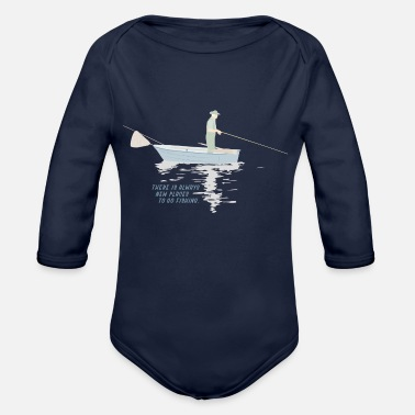 Fisherman Fisherman - Organic Long-Sleeved Baby Bodysuit