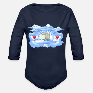 Gate Gates of Heaven - Organic Long-Sleeved Baby Bodysuit
