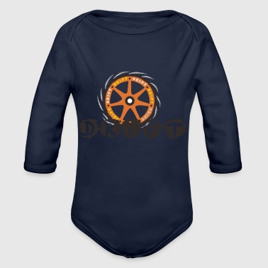 Drifting DRIFT - Organic Long Sleeve Baby Bodysuit