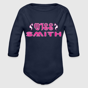 Miss Smith - Organic Long Sleeve Baby Bodysuit