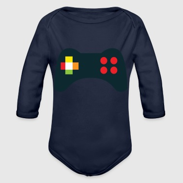console GAMERS - Organic Long Sleeve Baby Bodysuit