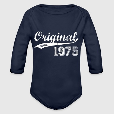 1975 - Organic Long Sleeve Baby Bodysuit