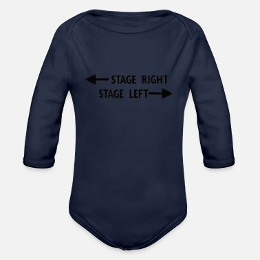 Stage theatre stage - Organic Long Sleeve Baby Bodysuit
