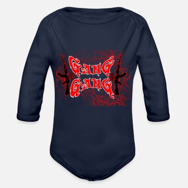 Gang Gang Gang - Organic Long-Sleeved Baby Bodysuit
