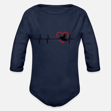 Snowmobile snowmobile - Organic Long Sleeve Baby Bodysuit