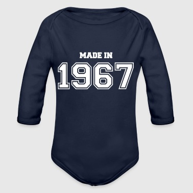 1967 1967 - Organic Long Sleeve Baby Bodysuit