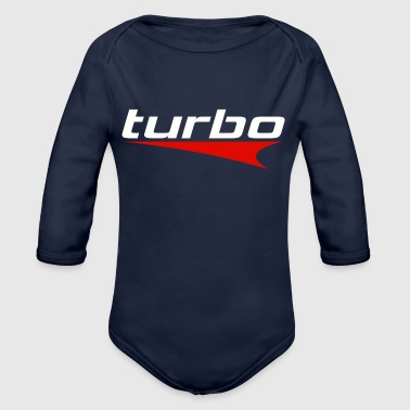 Turbo - Organic Long Sleeve Baby Bodysuit