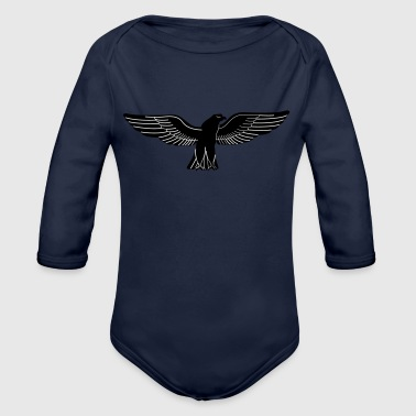 Hawk - Organic Long Sleeve Baby Bodysuit