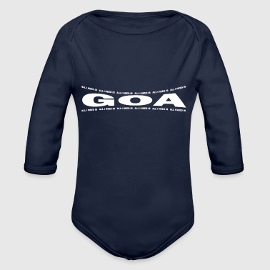 Goa LOVE TECHNO GESCHENK goa pbm GOA bpm goa - Organic Long Sleeve Baby Bodysuit