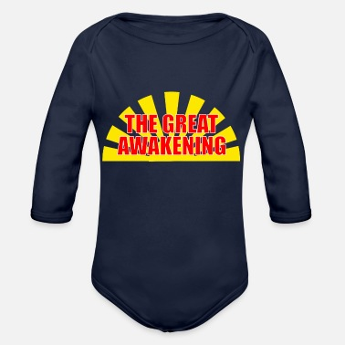 Dove Of Peace The Great Awakening - Organic Long-Sleeved Baby Bodysuit