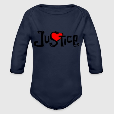 Justice Justice - Organic Long Sleeve Baby Bodysuit