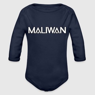 Maliwan logo- Borderlands series - Organic Long Sleeve Baby Bodysuit