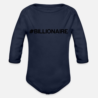 Billionaires BILLIONAIRE - Organic Long Sleeve Baby Bodysuit