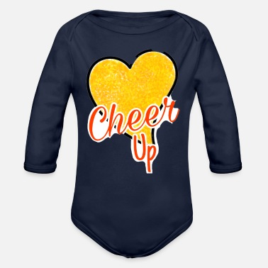 Cheer Up Cheer up - Organic Long-Sleeved Baby Bodysuit