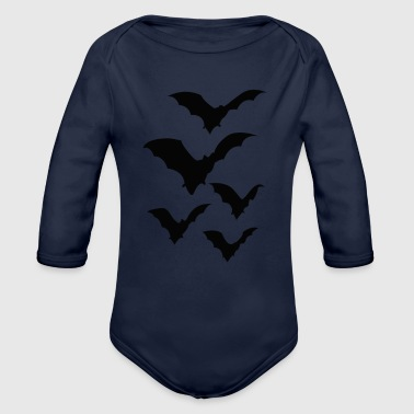BAT - Organic Long Sleeve Baby Bodysuit
