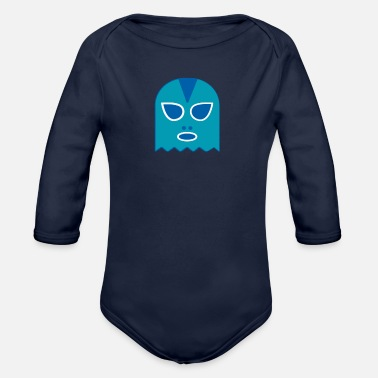 Ghost ghost - Organic Long Sleeve Baby Bodysuit