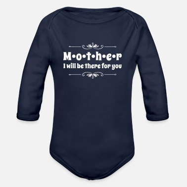 Mom Mother Mothers Day - Organic Long-Sleeved Baby Bodysuit