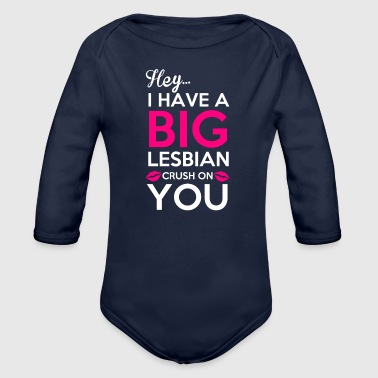 Blasen Crush - Organic Long Sleeve Baby Bodysuit