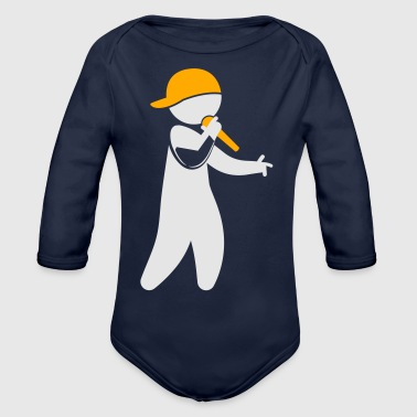 Hiphop Rapper - Organic Long Sleeve Baby Bodysuit