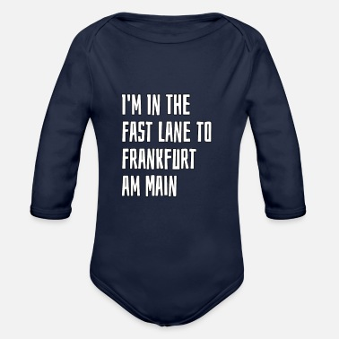 Frankfurt Am Main Frankfurt am Main - Organic Long-Sleeved Baby Bodysuit