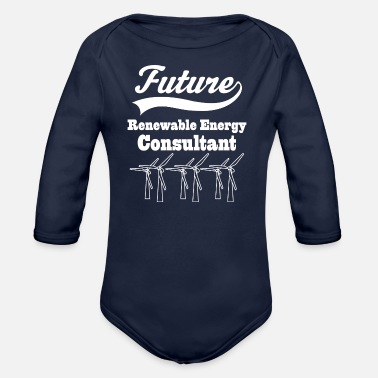 Renewable Energy Renewable Energy Consultant - Organic Long-Sleeved Baby Bodysuit