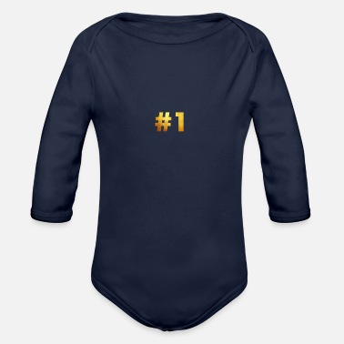1 - Organic Long Sleeve Baby Bodysuit