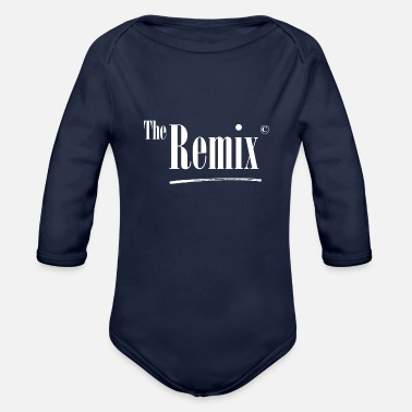 Original the remix partnerlook family kids with original te - Organic Long-Sleeved Baby Bodysuit