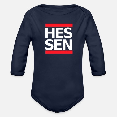 Sachsenhausen Hessen Germany - Organic Long-Sleeved Baby Bodysuit