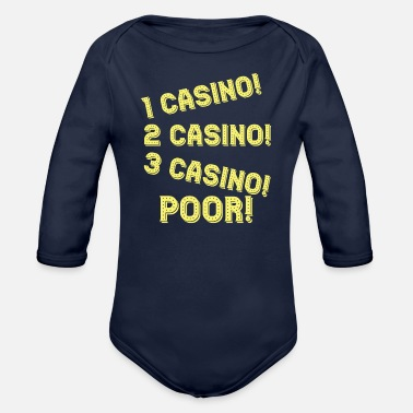 Casino Casino - Organic Long Sleeve Baby Bodysuit