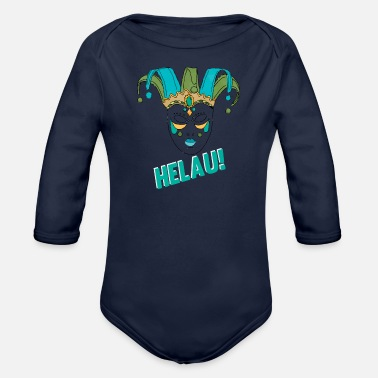 Rhinelandpalatinate Helau - Organic Long-Sleeved Baby Bodysuit