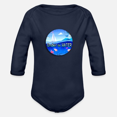 Under Water Under the water - Organic Long-Sleeved Baby Bodysuit