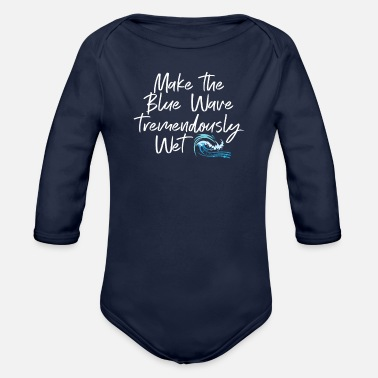 Democratic Party Democrat Party Designs - Organic Long-Sleeved Baby Bodysuit