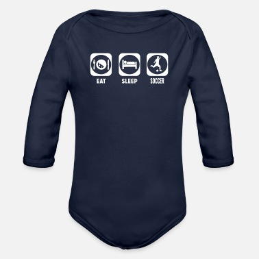 Soccer Soccer - Organic Long-Sleeved Baby Bodysuit