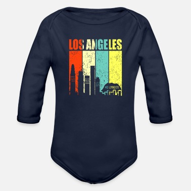Los Angeles Los Angeles - Organic Long-Sleeved Baby Bodysuit