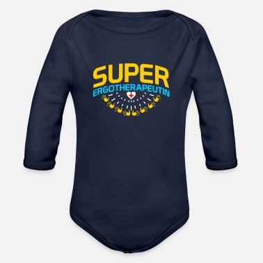 Occupation occupational therapist - Organic Long-Sleeved Baby Bodysuit