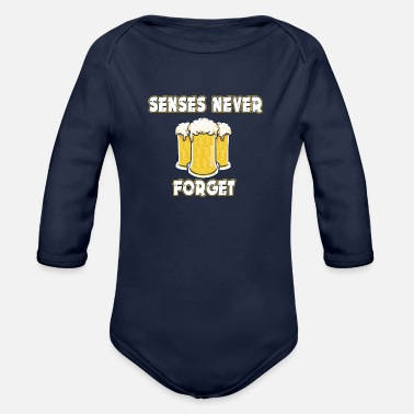 Veal Sausage senses never forget - Organic Long-Sleeved Baby Bodysuit